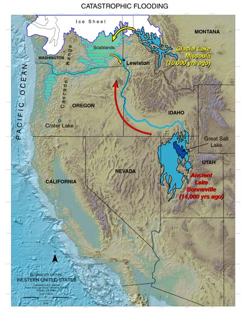 Ftmain rather than a single event flooding associated with glacial lake missoula most likely occurred multiple times publicscrutiny Choice Image