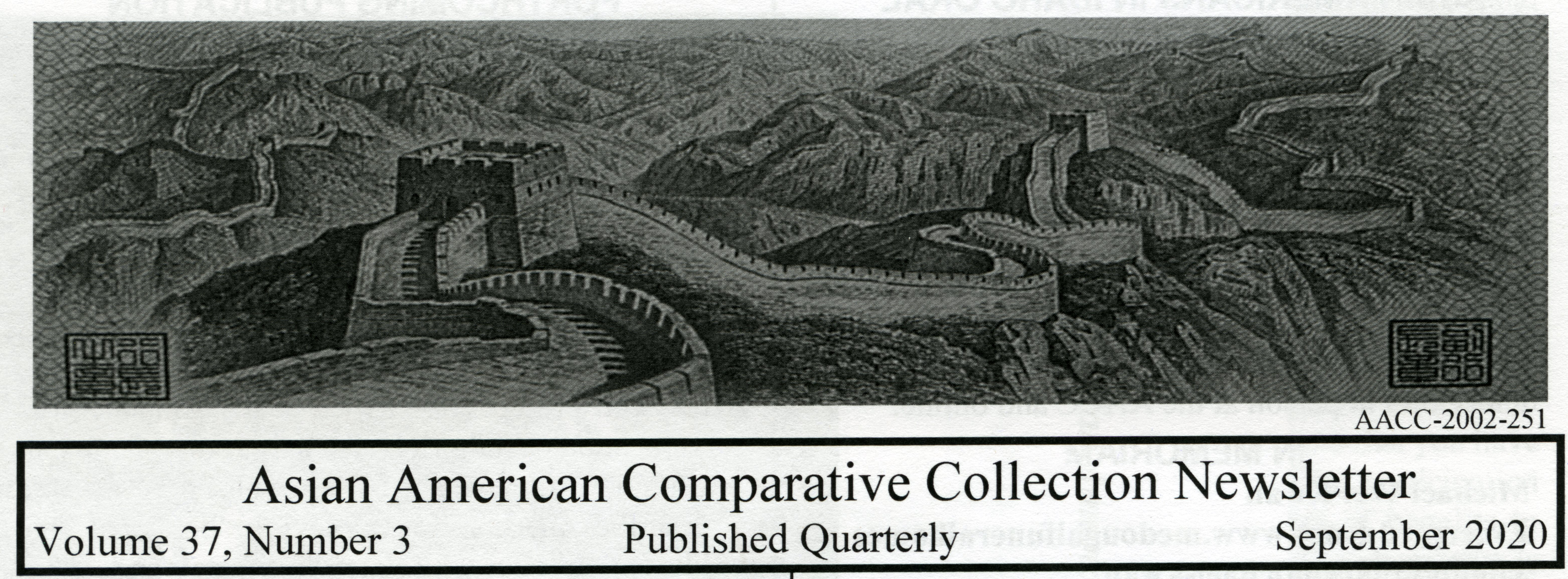 Preview image for Asian American Comparative Collection newsletter